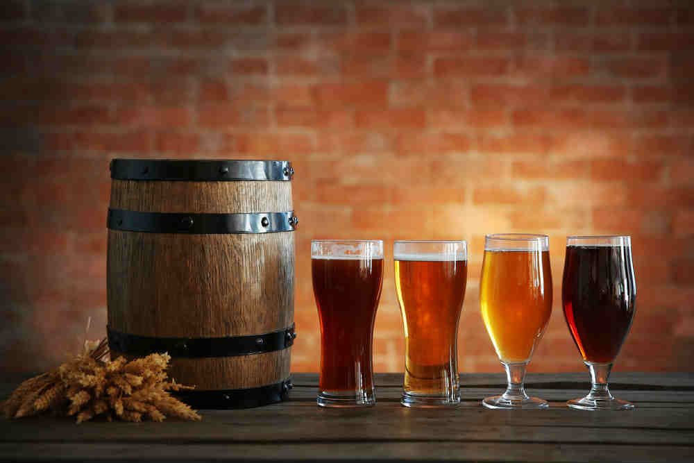 Four Beers and Barrel
